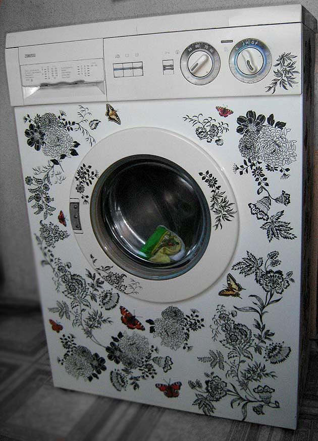 Как покрасить стиральную машину своими руками 90